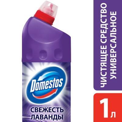 DOMESTOS Средство универсальное чистящее Свежесть лаванды 1л средство чистящее domestos хвойная свежесть