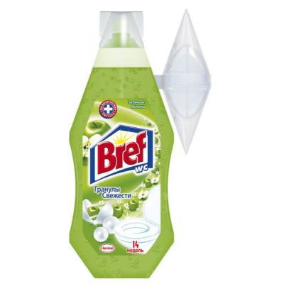BREF Гель-блок подвесной для унитаза Зелёное яблоко 360мл bref duo aktiv океан