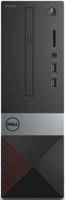 ПК Dell Vostro 3267 SFF P G4400 (3.3)/4Gb/1Tb 7.2k/HDG510/Linux Ubuntu/GbitEth/клавиатура/мышь/черный