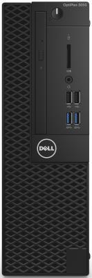 ПК Dell Optiplex 3050 Micro i5 6500T (3.4)/4Gb/500Gb/HDG530/Windows 10 Professional 64/Eth/клавиатура/мышь/черный системный блок dell optiplex 3050 i5 6500 3 2ghz 4gb 500gb hd530 dvd rw win10pro клавиатура мышь черный 3050 6324