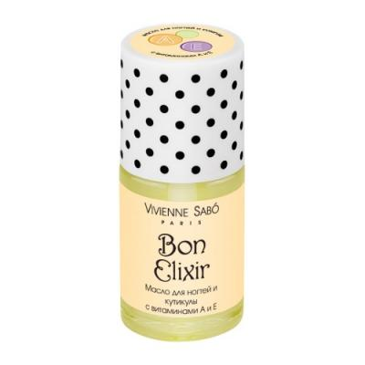 """VS Масло для ногтей и кутикулы с витаминами А и Е/vitamin nail care oil/Huile pour ongles et cuticules """"""""Bon Elixir"""""""" от 123.ru"""
