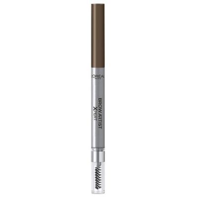 LOREAL BROW ARTIST XPERT Карандаш для бровей тон 105 Коричневый loreal brow artist карандаш для бровей 303 темно коричневый