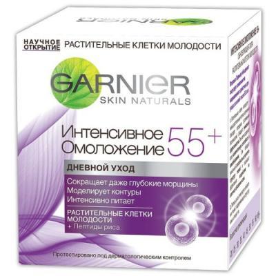 GARNIER Крем дневной Клетки Молодости Интенсивное омоложение 55 50мл garnier garnier дневной крем для лица интенсивное омоложение 55 50 мл