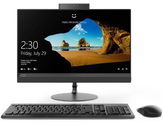 "Моноблок 21.5"" Lenovo IdeaCentre 520-22IKL 1920 x 1080 Intel Core i3-7100T 4Gb 1Tb Intel HD Graphics 630 DOS черный F0D4001TRK"