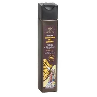 PLANETA ORGANICA Шампунь для сухих и поврежденных волос Shea Butter 250мл