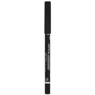 MAYBELLINE Карандаш для глаз Line Refine Ex.Kajal тон 33 Черный givenchy magic khol карандаш для глаз черный