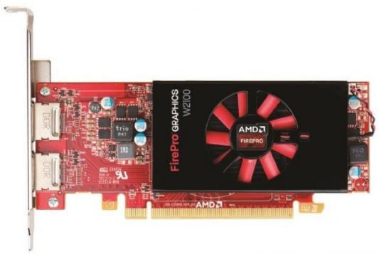 Видеокарта DELL W2100 FirePro W2100 PCI-E 2048Mb 128 Bit Retail (490-BCHN)