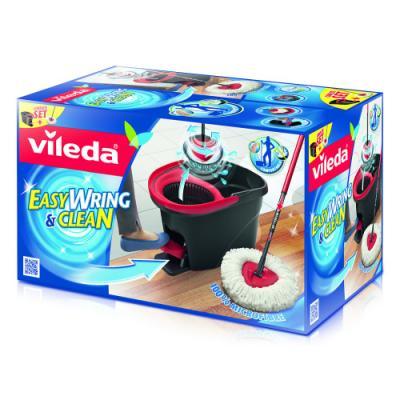 ВИЛЕДА Набор для уборки Легкий отжим Easy Wring швабра ведро с педальным отжимом vileda сушилка для белья вива драй баланс vileda