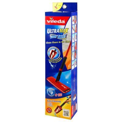 ВИЛЕДА Швабра с отжимом Ультрамакс Изи Твист швабра для мытья пола soft touch light твист с отжимом