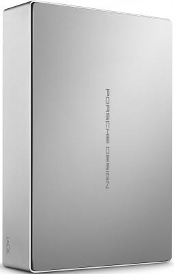 Внешний жесткий диск 3.5 USB3.1 4Tb Lacie Porsche Design Desktop STFE4000401 серебристый внешний жесткий диск 2 5 lacie porsche design mobile drive 2tb stet2000400