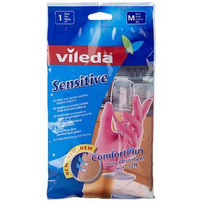 ВИЛЕДА Перчатки для деликатных работ M vileda сушилка для белья вива драй баланс vileda