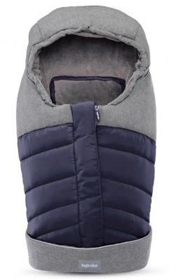 Зимний конверт для люльки/автокресла Inglesina (navy) зимний конверт altabebe clima guard al2274c black whitewash