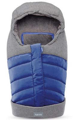 Зимний конверт для люльки/автокресла Inglesina (royal blue) зимний конверт altabebe clima guard al2274c black whitewash