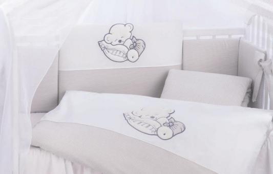 Сменный комплект постельного белья 3 предмета 125х65см Lepre Fantasia (цвет 34 крем-полоска) glass deco nr m3