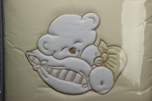 Сменный комплект постельного белья 3 предмета 125х65см Lepre Fantasia (цвет 38 крем) матрас в кроватку 125х65см lepre sogni d