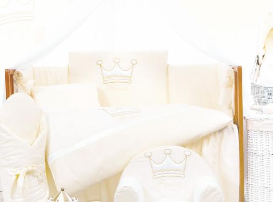 Сменный комплект постельного белья 3 предмета 125х65см Lepre Royal Dream (цвет 65 крем)
