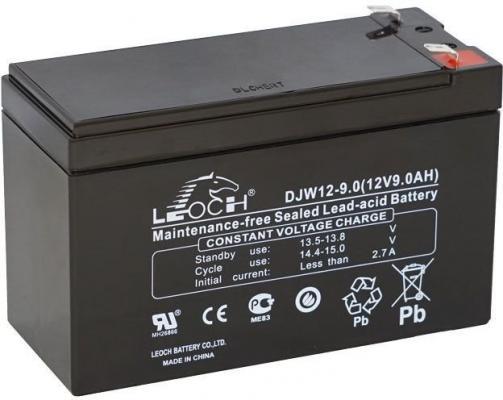 Батарея Powercom LEOCH DJW12-9.0 12В 9Ач аккумулятор leoch djm1275 н