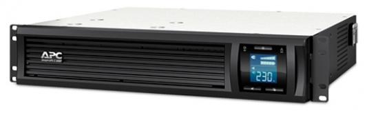 ИБП APC Smart-UPS C SMC2000I-2URS 1300Вт 2000ВА черный ибп apc smart ups c smc3000i