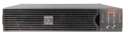 ИБП APC Smart-UPS RT SURT1000RMXLI-NC 1000VA Черный ибп apc smart ups 1000va 800w src1ki