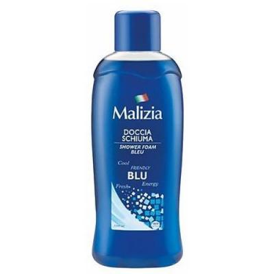Malizia Пена для душа BLUE 1000 мл косметика для мамы malizia гель пена для душа nutri touch 750 мл