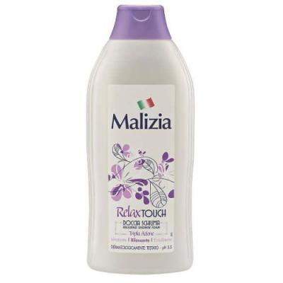 Malizia Гель-пена для душа Relax Touch 750 мл шампунь и гель для душа 2в1 silver malizia 250 мл