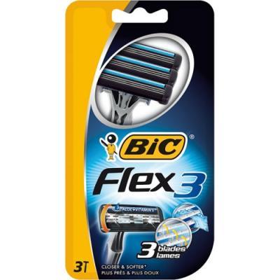 Бритвенный станок BIC Flex 3 3 бритвенный станок bic action 4