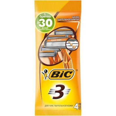 Бритвенный станок BIC Sensitive 4 boss bic 10a
