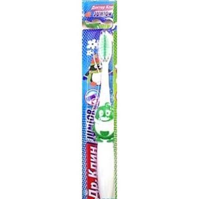 Зубная щётка детская DR. CLEAN Junior 49482 clean green drinks