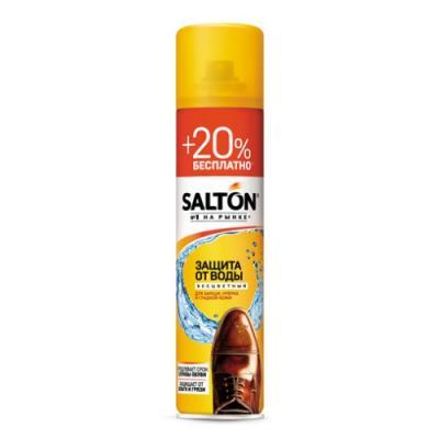 Аэрозоль для обуви SALTON Защита от воды 300 мл 40250 аэрозоль для обуви salton expert 250 мл 52250
