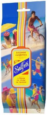 Салфетки влажные Salfeti Family гипоаллергенные не содержит спирта 30 шт