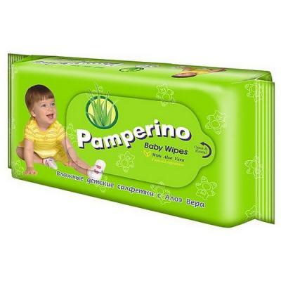 Салфетки влажные Pamperino 15307 не содержит спирта 50 шт menalind салфетки влажные гигиен 50 шт