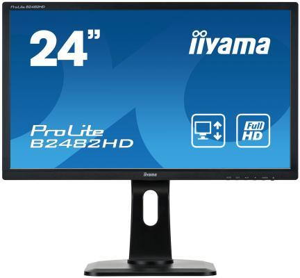 Монитор 24 iiYama ProLite B2482HD-B1 iiyama iiyama prolite t2735msc b1