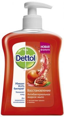 Мыло жидкое DETTOL Восстановление 250 мл 3045990 dove жидкое крем мыло прикосновение свежести 250 мл
