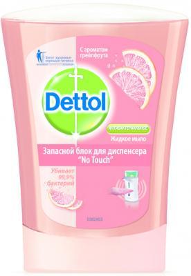 Мыло жидкое DETTOL 3046349 250 мл dettol антибактериальное жидкое мыло для диспенсера no touch с ароматом зеленого чая и имбиря запасной блок 250 мл запасной блок