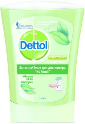 Мыло жидкое DETTOL 3045873 250 мл dettol антибактериальное жидкое мыло для диспенсера no touch с ароматом зеленого чая и имбиря запасной блок 250 мл запасной блок