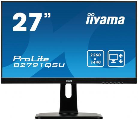 Монитор 27 iiYama ProLite B2791QSU-B1 монитор iiyama prolite b2791qsu b1