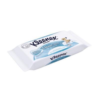 Влажная туалетная бумага Kleenex CleanCare  гипоаллергенные 42 шт 9440080