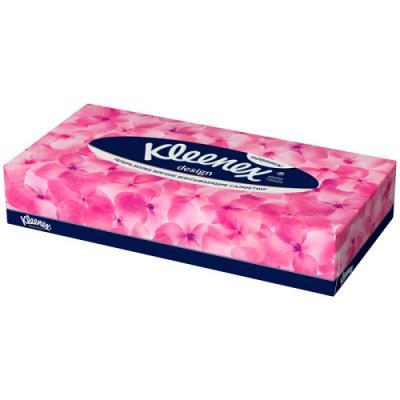 Салфетки Kleenex Дизайн 2-ух слойная 70 шт 9480305