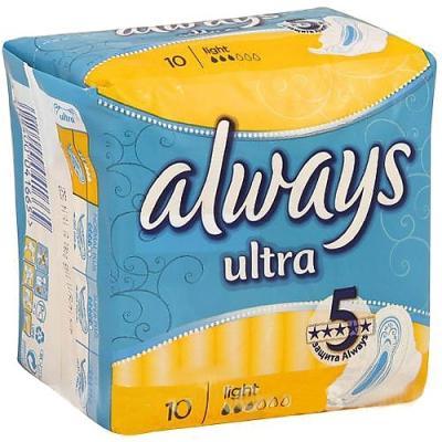 "Прокладки впитывающие Always ""Ultra Light Single"" 10 шт AL-83715773S от 123.ru"
