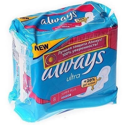 Прокладки впитывающие Always Ultra Super Plus Single 8 шт charlotte olympia эспадрильи из кожи и льна mischievous flats