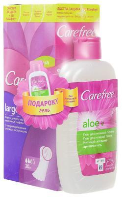Салфетки Carefree plus Large Fresh ароматизированная 20 шт 90778 carefree салфетки plus large 36 шт