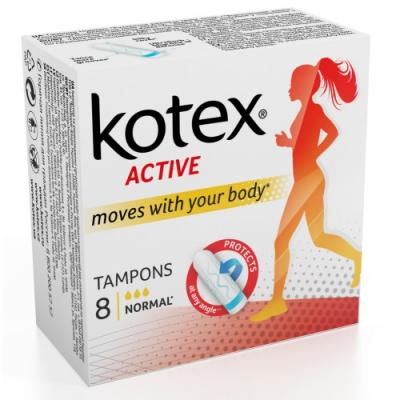 Тампоны Kotex Active. Normal 8 шт 1352950