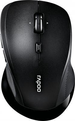 Мышь беспроводная Rapoo 3910 чёрный USB 16989 rapoo черный беспроводная