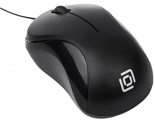 Мышь проводная Oklick 115SR чёрный USB мышь проводная oklick 295m чёрный usb