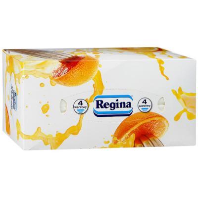 Салфетки бумажные Regina Деликатис 4-ех слойная ароматизированная 120 шт туалетная бумага regina деликатис
