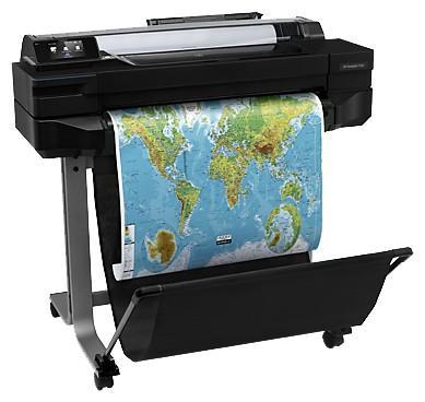 Плоттер HP Designjet T520 CQ890C 24 A1 1024Mb 2400x1200dpi Ethernet Wi-Fi USB плоттер hp designjet t830 24 mfp f9a28a
