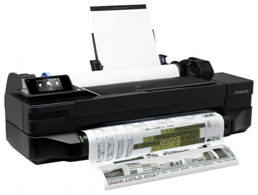 Плоттер HP Designjet T120 CQ891C 24 A1 256Mb 600x600dpi Ethernet Wi-Fi USB плоттер hp designjet t120