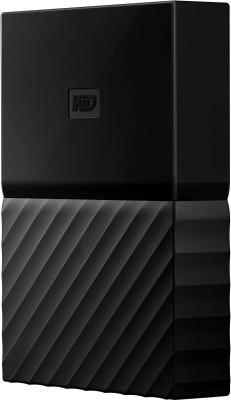 Внешний жесткий диск 2.5 USB3.0 4 Tb Western Digital My Passport WDBZGE0040BBK-WESN черный t5 car 5 0mp digital video camcorder w 4 ir led 4x digital zoom 2 7 tft