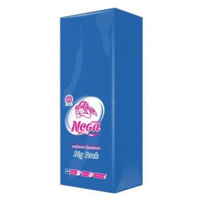 Салфетки бумажные Nega JCD без отдушки 100 шт бумажные салфетки duni салфетки бумажные barbeque grill 3 слойные 33х33 см 20 шт