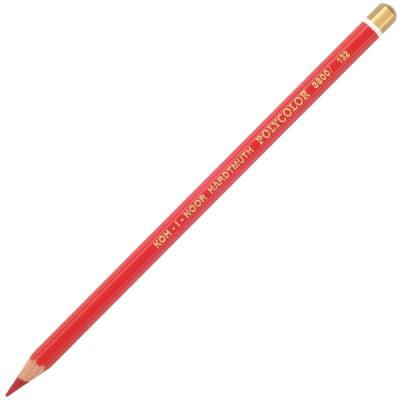 Карандаш художественный POLYCOLOR, красный lyra rembrandt polycolor light orange художественный карандаш